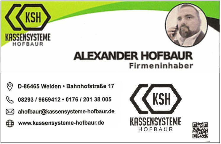 Kassensystem Hofbaur